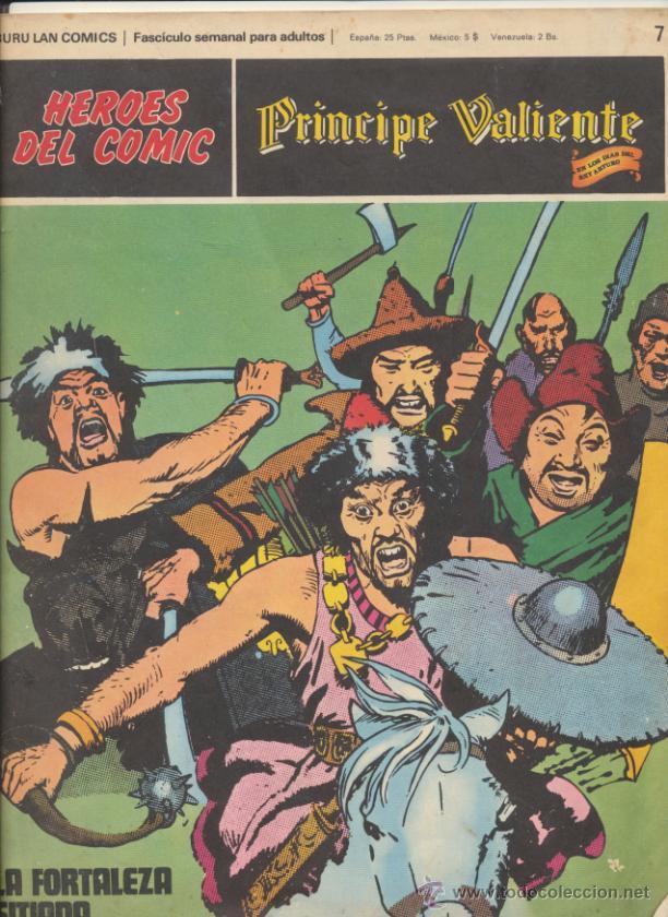 EL PRÍCIPE VALIENTE Nº 7. BURU LAN. (Tebeos y Comics - Buru-Lan - Principe Valiente)