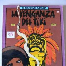 Cómics: TEBEO COMIC LA VENGANZA DEL TIKI N,11 AÑO 1.984. Lote 44112907