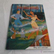 Cómics: LLIBRE-COMIC DISNEY EDICIÓ BILINGÜE CATALÀ- ANGLÈS: POCAHONTAS . Lote 44219725