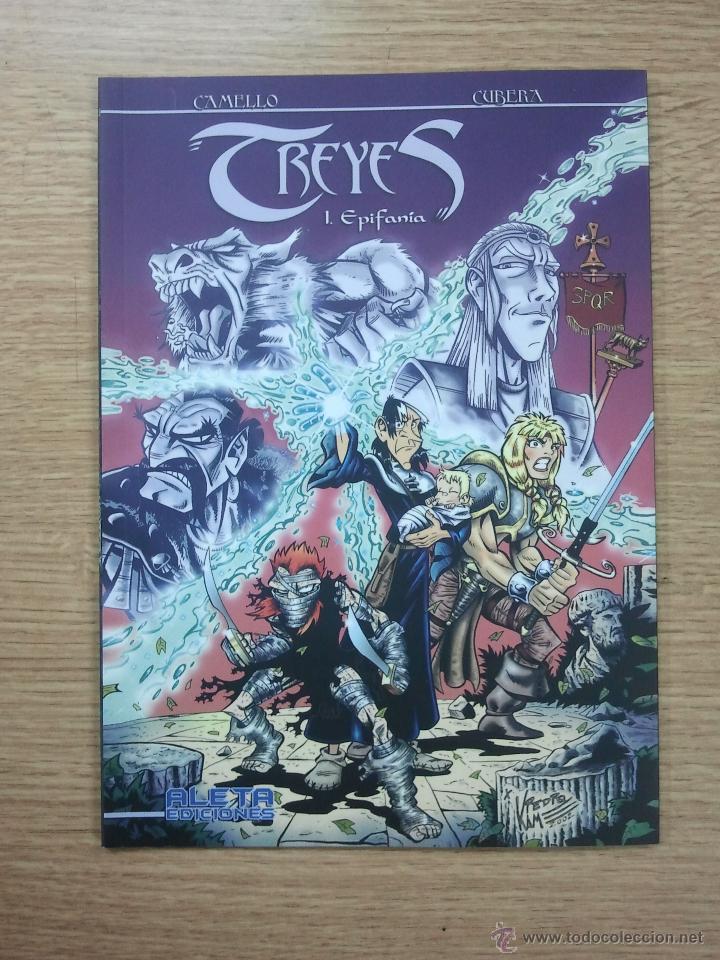TREYES #1 EPIFANIA (ALETA) (Tebeos y Comics - Comics otras Editoriales Actuales)