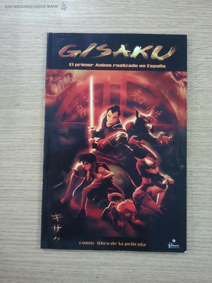 GISAKU (COMIC-LIBRO DE LA PELICULA) (Tebeos y Comics - Comics otras Editoriales Actuales)