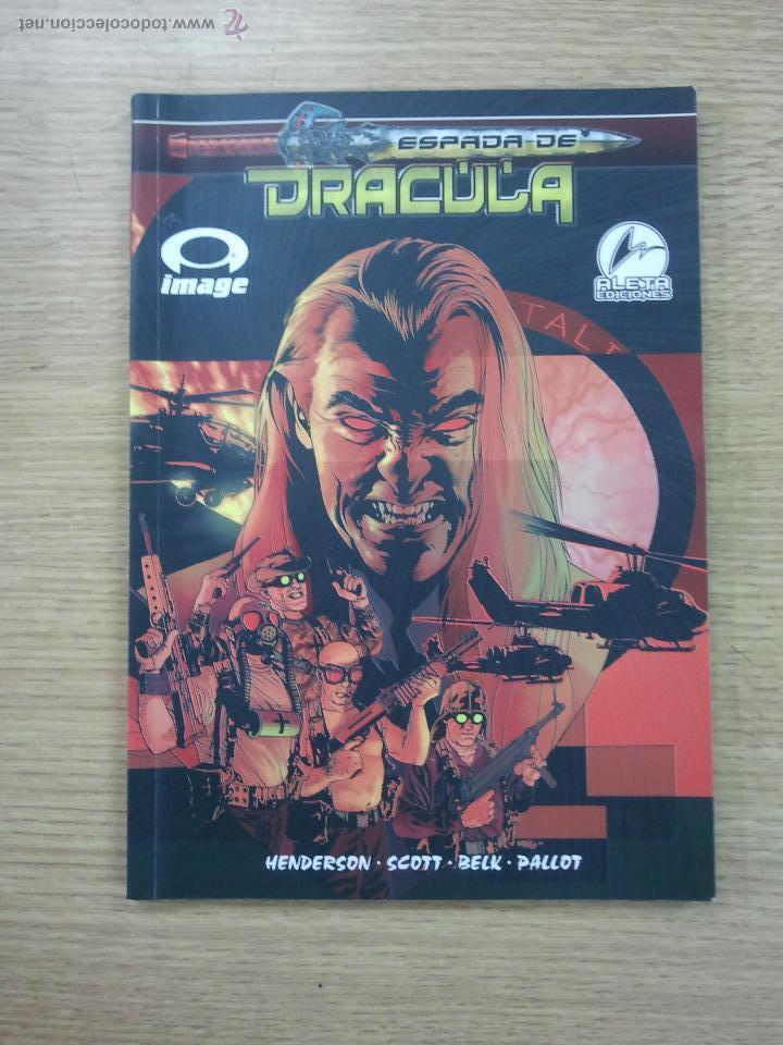 LA ESPADA DE DRACULA (ALETA) (Tebeos y Comics - Comics otras Editoriales Actuales)