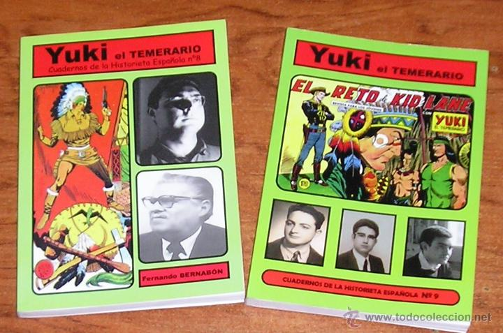 """YUKI, EL TEMERARIO"""" COLECCIÓN """"CUADERNOS DE LA HISTORIETA ESPAÑOLA"""" ANÁLISIS DE LA OBRA EN 2 TOMOS. (Tebeos y Comics - Comics otras Editoriales Actuales)"""