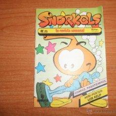 Cómics: SNORKELS Nº 25 . Lote 44331275