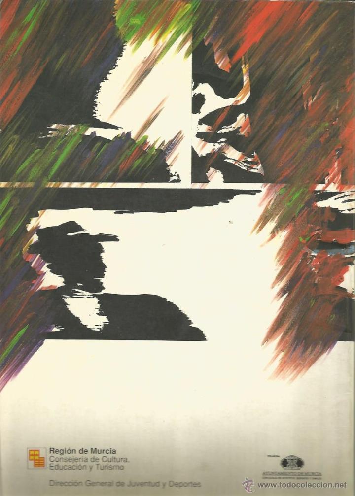 Cómics: COMIC MURCIA JOVEN 91 - DIRECCIÓN GRAL. DE JUVENTUD Y DEPORTES - Foto 2 - 44384902