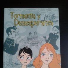 Cómics: TORMENTA Y DESESPERANZA - LUCIE DURBIANO. PONENT MON, OFERTA. Lote 34150755