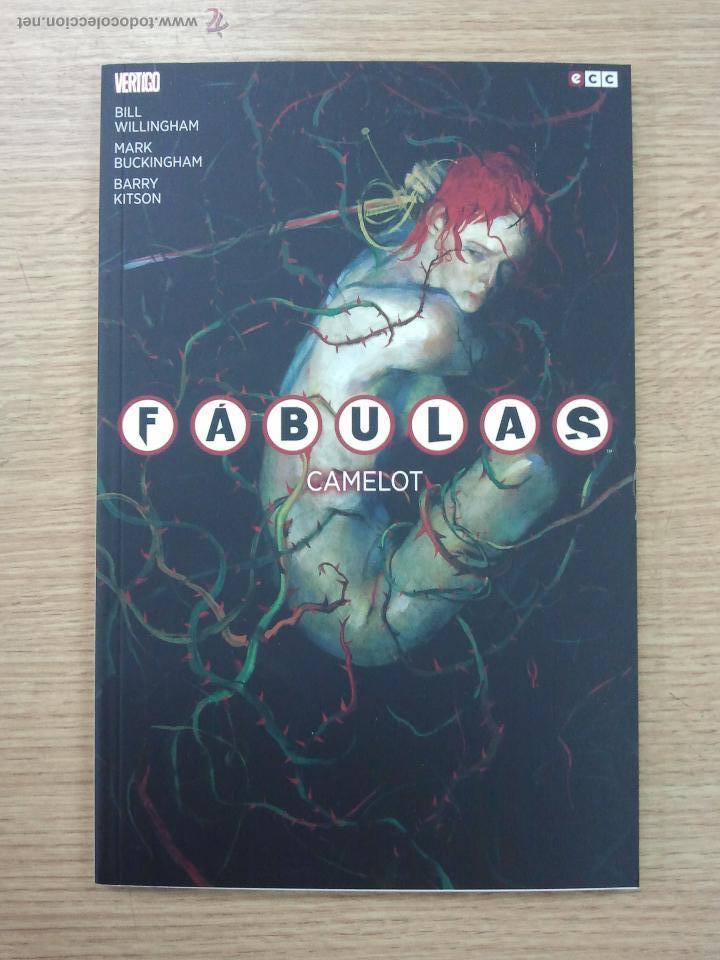 FABULAS #19 CAMELOT (ECC EDCIONES) (Tebeos y Comics - Comics otras Editoriales Actuales)