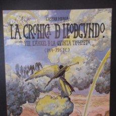 Cómics: LA CRONICA DE LEODEGUNDO. (8). L'ANXEL DE LA QUINTA TROMPETA. 784-796 DC.). GASPAR MEANA. COMICS DEL. Lote 44647969