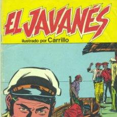 Cómics: EL JAVANES Nº7. DIBUJOS DE CARRILLO. Lote 44692026