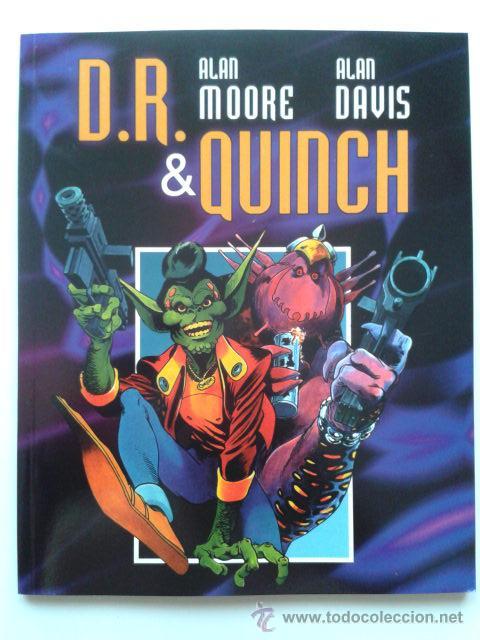 DR & QUINCH - ALAN MOORE Y ALAN DAVIS - DUDE COMICS - 2001 - NUEVO (Tebeos y Comics - Comics otras Editoriales Actuales)