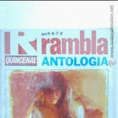Cómics: RAMBLA ANTOLOGIA QUINCENAL RETAPADO NUMEROS 5 6 7 8, PRECINTADO!!!. Lote 44822246