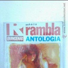 Cómics: RAMBLA ANTOLOGIA QUINCENAL RETAPADO NUMEROS 5 6 7 8, PRECINTADO!!!. Lote 44822256