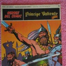 Cómics: PRINCIPE VALIENTE 6 EDICIONES BURU LAN 1972 HEROES DEL COMIC LA INVASIÓN DE LOS SAJONES HAL FOSTER. Lote 45009529