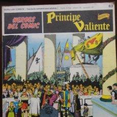 Cómics: PRÍNCIPE VALIENTE Nº-63. Lote 45030048
