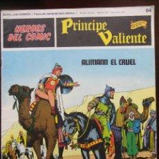 Cómics: PRÍNCIPE VALIENTE Nº-64. Lote 45030089