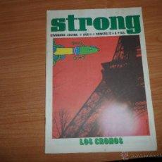 Cómics: STRONG Nº 22 EDICIONES ARGOS 1969. Lote 45053067