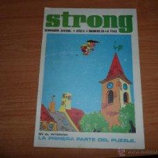 Comics : STRONG Nº 26 EDICIONES ARGOS 1969. Lote 45053091