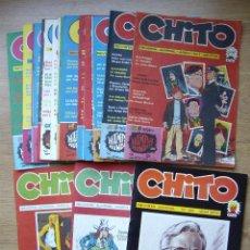 Cómics: CHITO. COLECCION CASI COMPLETA. 20 NÚMEROS.. Lote 45070701