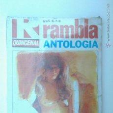 Cómics: RAMBLA ANTOLOGIA QUINCENAL RETAPADO NUMEROS 5 6 7 8, PRECINTADO!!!. Lote 45117362
