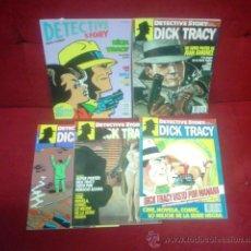 Cómics: DETECTIVE STORY ¡¡COLECCIÓN COMPLETA!! 1 AL 5 (CON DOS SUPERPOSTERS DE JUAN GIMÉNEZ). Lote 45260296