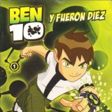 Cómics: BEN 10 Y FUERON DIEZ - Nº 1 EL PAIS. Lote 45321454