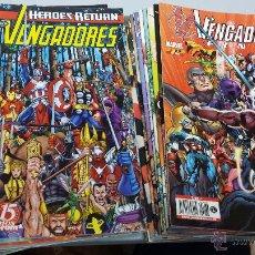 Cómics: LOS VENGADORES VOL 3 HEROES RETURN ¡ LOTE 24 NUMEROS ! MARVEL - FORUM POSIBILIDAD NUMEROS SUELTOS. Lote 45369556