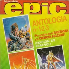 Comics : EPIC ANTOLOGIA COLECCION COMPLETA Nº 1, 2 Y 3 EN UN REETAPADO DISTRINOVEL 1982. Lote 62296378