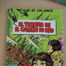 Comics : COMICS DE AUTOR. BERNARD DUFOSSÉ. EN EL CLUB DE LOS CINCO Nº 1. Lote 45438044