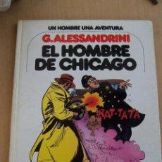 Comics : COMICS DE AUTOR. G. ALESSANDRINI EN UN HOMBRE UNA AVENTURA Nº 3. Lote 45440525