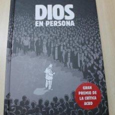 Cómics: DIOS EN PERSONA MARC-ANTOINE MATHIEU EDICIONES SINSENTIDO 2009 TAPA DURA MUY RARO. Lote 45447110