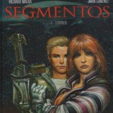 Cómics: SEGMENTOS Nº 1 LEXÍPOLIS - MALKA, GIMÉNEZ - GLÉNAT. Lote 45505415