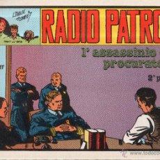 Cómics: RADIO PATROL. I'ASSASSINIO DEL PROCURATORE 2º PARTE. ITALIA. Nº 32. Lote 45510840