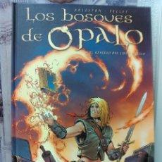 Cómics: LOS BOSQUES DE OPALO Nº 2 -EL REVERSO DEL LIBRO MÁGICO- EDC. HEGATS - VER FOTOS. Lote 45575484