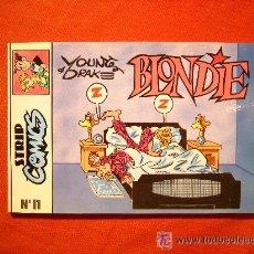Cómics: STRIP COMICS - BLONDIE - Nº 11 - DEAN YOUNG Y STAN DRAKE - 1990 . CASTELLANO.. Lote 45639984