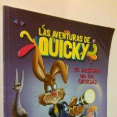 Cómics: LAS AVENTURAS DE QUICKY EL MISTERIO DE LAS ORTIGAS. Lote 45673470