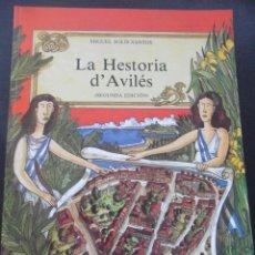 Cómics: LA HESTORIA D'AVILES. MIGUEL SOLIS SANTOS. EDICIONES AZUCEL, SEGUNDA EDICION, 1992. A TODO COLOR. RU. Lote 45686177