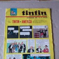 Comics : TINTIN Nº 26 - SEMANARIO -S.G. DE PUBLICACIONES. Lote 45730749