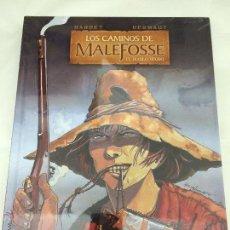 Cómics: LOS CAMINOS DE MALEFOSSE 1. EL DIABLO NEGRO - BARDET, DERMAUT - YERMO EDICIONES. Lote 45782108