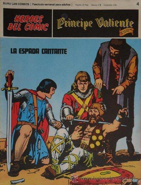 PRINCIPE VALIENTE LOTE DE 10 Nº (4-5-6-7-8-17-21-23-56-58) (Tebeos y Comics - Buru-Lan - Principe Valiente)