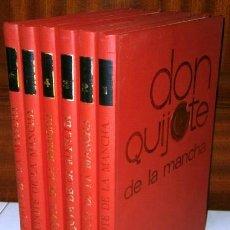 Cómics: DON QUIJOTE DE LA MANCHA 6T (COMPLETO) POR CERVANTES DE EDICIONES NARANCO EN OVIEDO 1972. Lote 126616944