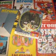 Cómics: LOTE 38 NºS DE STRONG CON Nº 1 Y 87. ARGOS 1969 DOS LÁMINAS DE REGALO. SUELTOS LOTE AMPLIADO 11-6-19. Lote 45858318