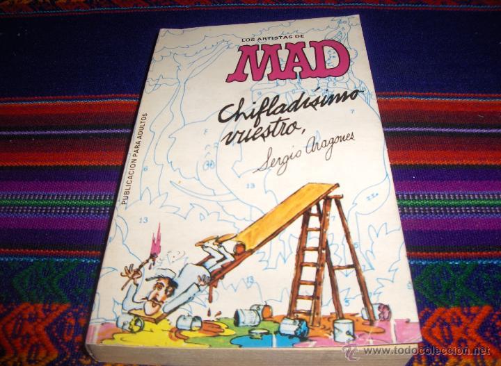 LOS ARTISTAS DE MAD CHIFLADÍSIMO VUESTRO POR SERGIO ARAGONÉS. EUREDIT 1975. 60 PTS. MBE Y MUY RARO. (Tebeos y Comics - Comics otras Editoriales Actuales)