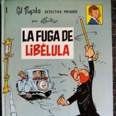 Cómics: GIL PUPILA DETECTIVE PRIVADO Nº1. LA FUGA DE LIBÉLULA. MAURICE TILLIEUX.EDITORIAL CASALS.ESPAÑA 1987. Lote 45946766