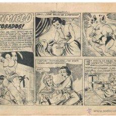 Cómics: SINMIEDO. Nº 17. ¡ACOSADOS!. CON ALGUN DEFECTO. EDICIONES ACRÓPOLIS. 1962.(C/A3). Lote 45980408