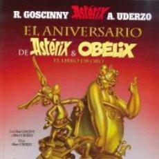 Cómics: CÓMICS. ASTÉRIX 34. EL ANIVERSARIO DE ASTÉRIX Y OBÉLIX. EL LIBRO DE ORO - GOSCINNY/UDERZO (CARTONÉ). Lote 137503374