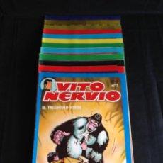 Cómics: VITO NERVIO, SAN ROMAN,1980. COLECCIÓN COMPLETA 1—12.. Lote 53714080