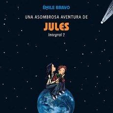 Cómics: CÓMICS. UNA ASOMBROSA AVENTURA DE JULES 2. INTEGRAL - ÉMILE BRAVO (CARTONÉ). Lote 46048144