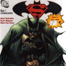 Cómics: SUPERMAN/BATMAN NUMERO 1, PLANETA, CJ152. Lote 46090338