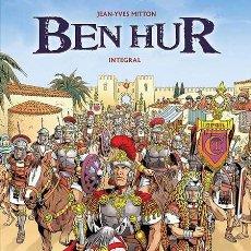 Cómics: CÓMICS. BEN HUR INTEGRAL - MITTON (CARTONÉ) DESCATALOGADO!!! OFERTA!!!. Lote 46099645