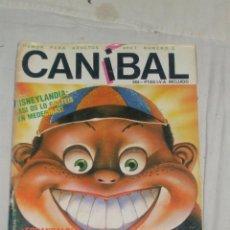 Cómics: CANIBAL. Lote 46173957